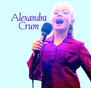 2004 Alexandra Crum CD Demo ~ Living Water Music, Inc.