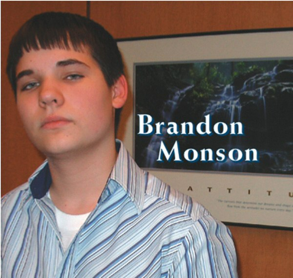 brandon monson, iron range idol, cd demo, cd scholarship, cd release