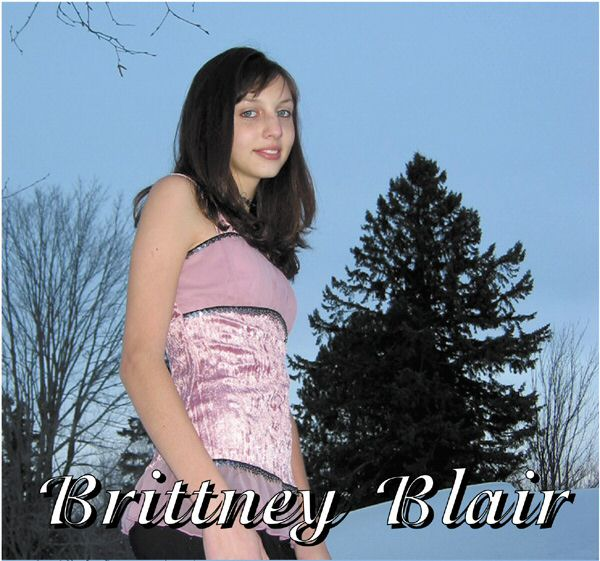 brittney blair, vocalist, cd demo, cd scholarship, living water music, hibbing school of music