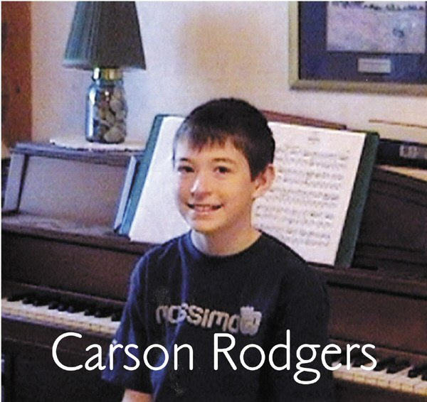 carson rodgers, pianist, cd demo, cd scholarship
