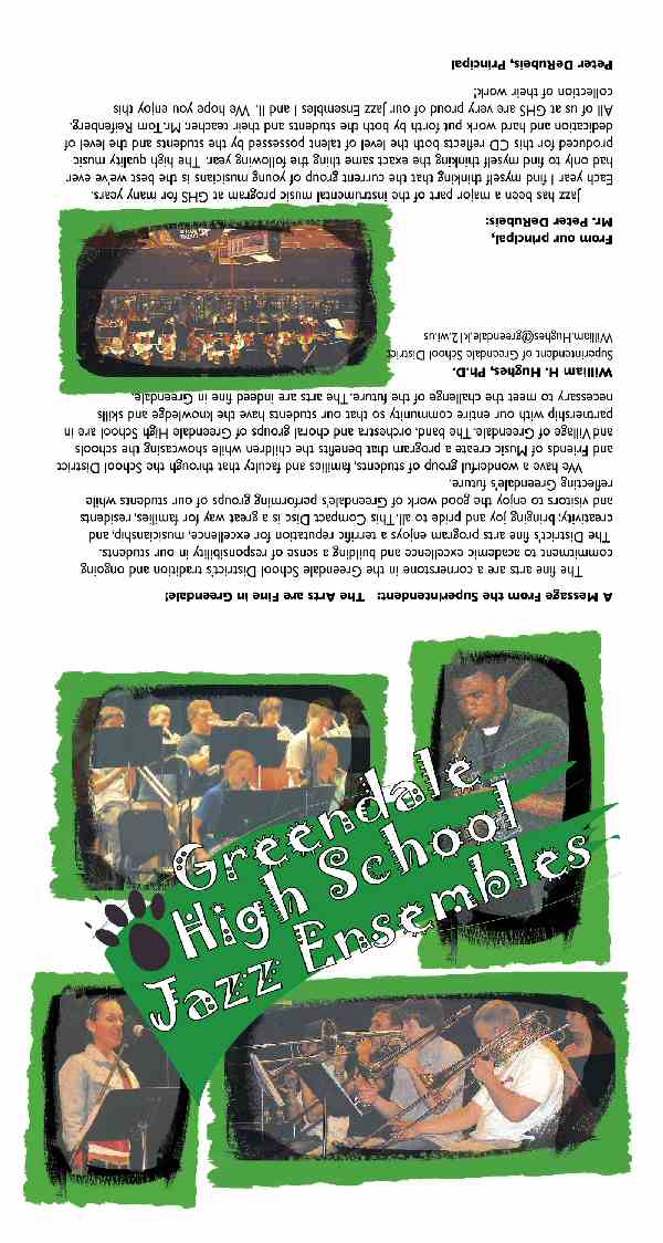 wisconsin high school, high school jazz band, jazz band, jazz cd, jazz recording, jazz band cd
