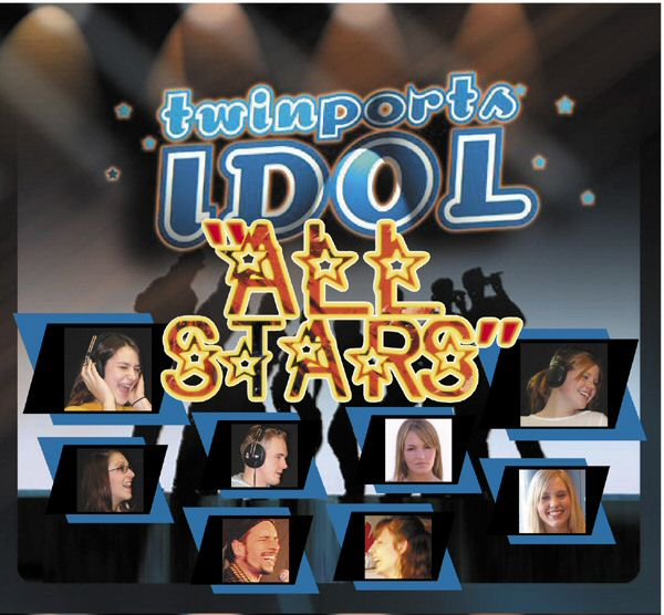 "Twin Ports Idol ""All Stars"" compilation CD of all the Finalists"
